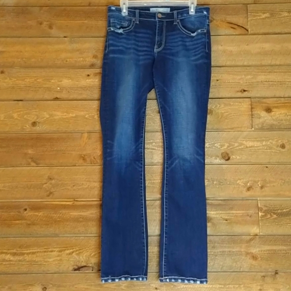 BKE Payton Universal Fit Mid-Rise Boot Cut Jeans